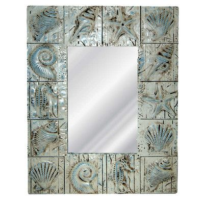 Hickory Manor House Seaside Wall Mirror & Reviews | Wayfair