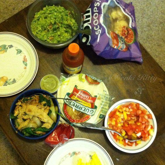 Vegan taco night recipe