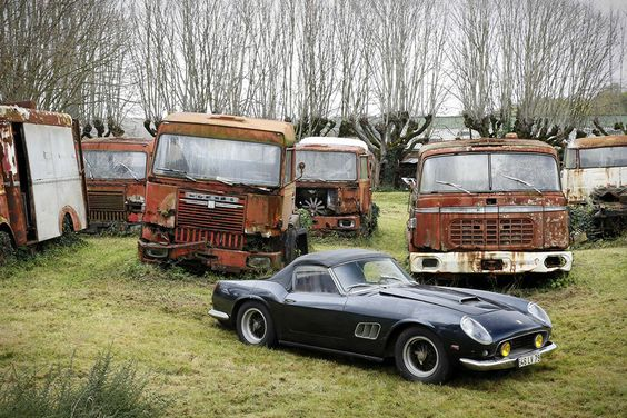 Massive Forgotten Classic Car Collection