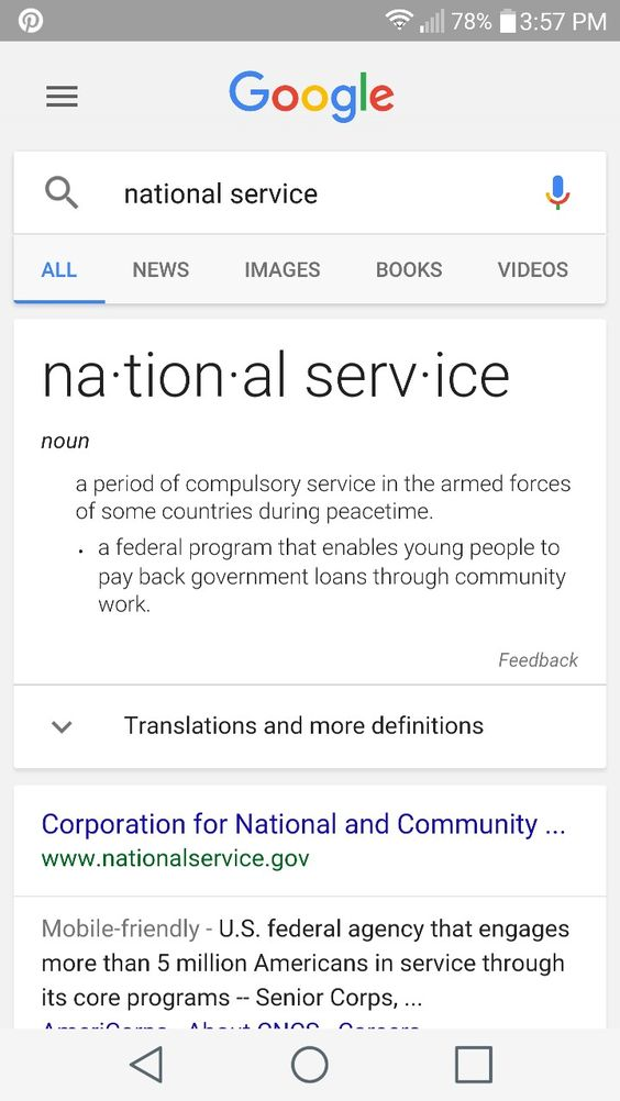I have to write a speech about what SERVICE means..?