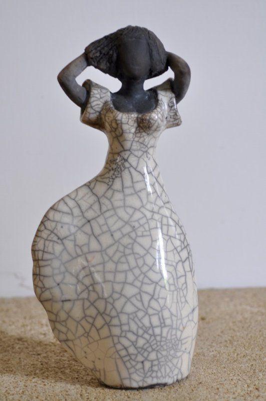 """Sculpture n°15 """"Dans le vent"""":"""