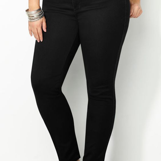 Tall plus size colored skinny jeans – Global fashion jeans models