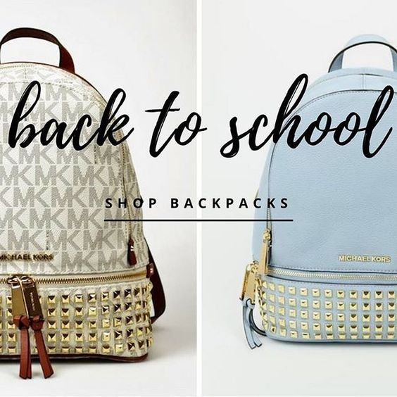 Step up your backpack style #backtoschool #backpack #fallstyle