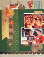 A Project by JenGallacher from our Scrapbooking Gallery originally submitted 09/17/12 at 07:55 AM