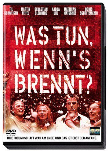 Was tun wenn s brennt  2001 Germany      IMDB Rating      6,9 (2.370)    Darsteller:      Til Schweiger,      Martin Feifel,      Sebastian Blomberg