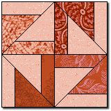 Turn About Quilt Block