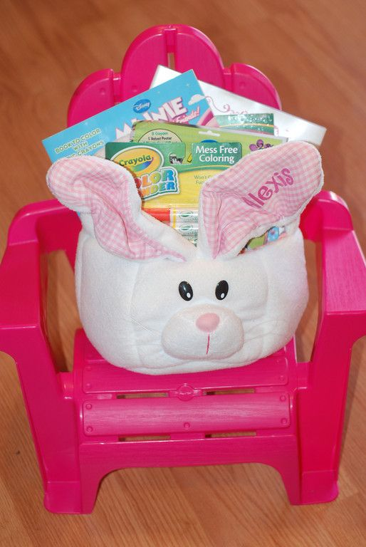 17 best images about babys first easter on pinterest baby pool everything but the candy easter baskets for little from girls mama say what candy free ideas for your little girls easter basket this year negle Image collections