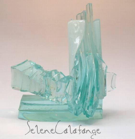 Escultura em Vidro da Serie PARALELISM 02/12 - 2009