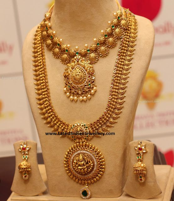Antique Long Chain Latest Jewelry Designs Jewellery Indian Pinterest Chains And