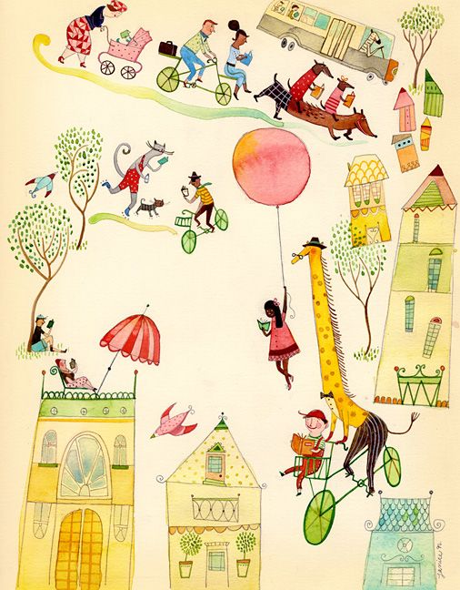 """Janice Nadeau - Illustrations A new illustrator I discovered and love. Look at """"The Tooth Mouse"""" illustrated by her."""