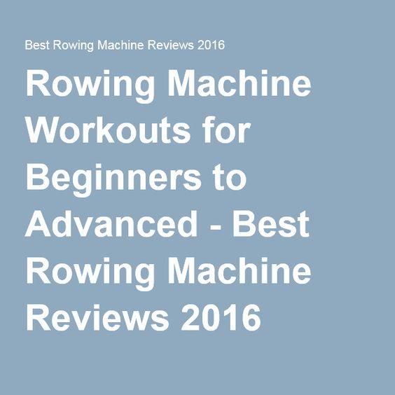 best rowing machine 2016