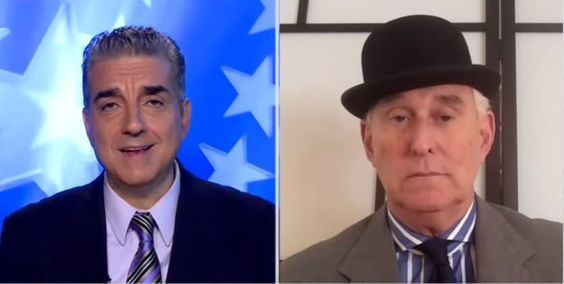 """(Gateway Pundit) – ROGER STONE: DNC WILL SELECT MICHELLE OBAMA IF """"GRAVELY ILL"""" HILLARY CAN'T CONTINUE Roger StonejoinedSteve MalzbergTuesday onNewsmax TV. SPECIAL: The Tea Party is recruiting an Army of Observers to prevent a Rigged Election by Hillary Clinton. Please chip in $35 or more to Stop the Steal… The two discussed Hillary's health emergency ..."""