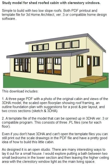 Image Result For 2 Slope Shed Roof Tiny House Shed Roof Clerestory Windows Home Design Software