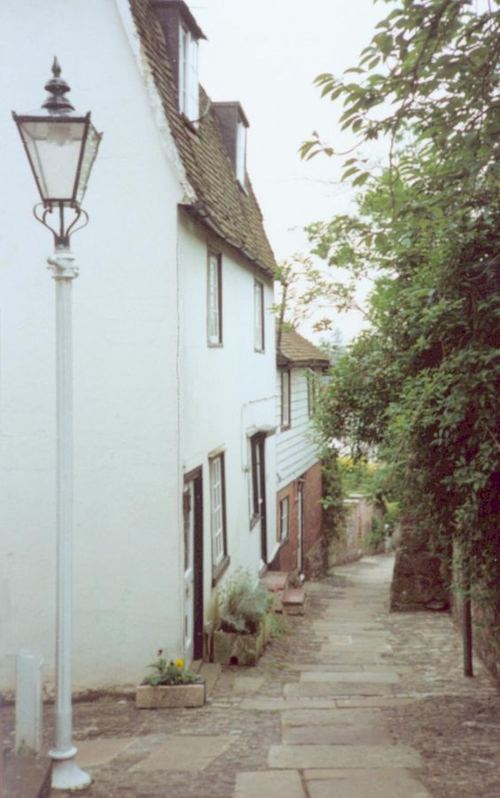 Thies little street in Sevenoaks, the town where my grandfather was born.