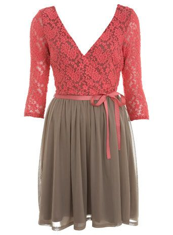 3/4 Sleeve Ballet Dress