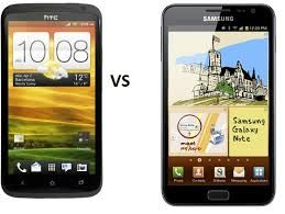 Htc One X or Samsung Note 1