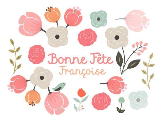Bonne Fete Francoise 9 Mars Carte Bonne Fete Bonne Fete Carte Virtuelle Bonne Fete