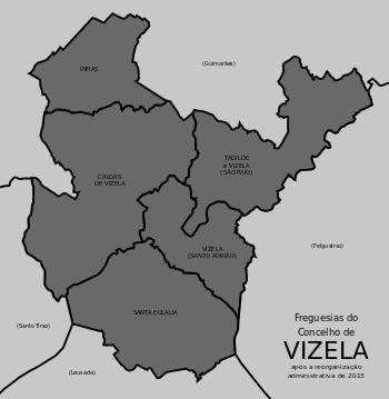 Freguesias do concelho de Vizela