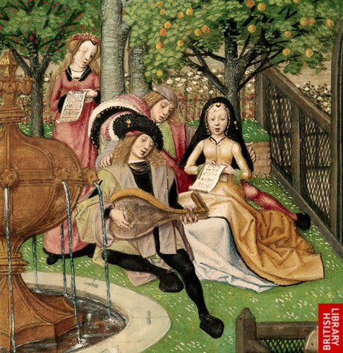 Guillaume de Lorris and Jean de Meun, Roman de la Rose    Netherlands, S. (Bruges); c. 1490-c. 1500   Garden of Pleasure