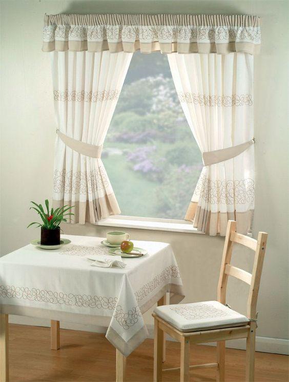Cortinas de janela, cortinas and cortinas da cozinha on pinterest