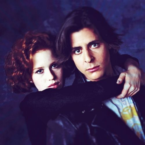 Judd Nelson And Molly Ringwald Kissing