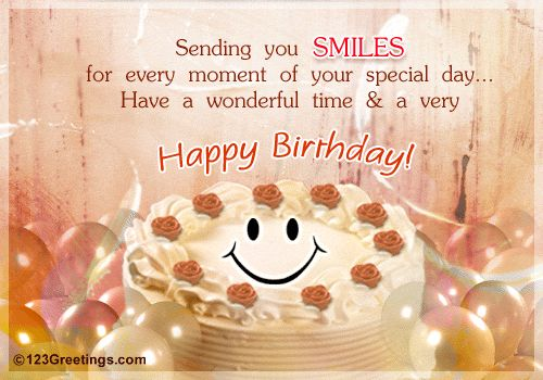 Browse happy birthday greetings to a friend, bday cards ...