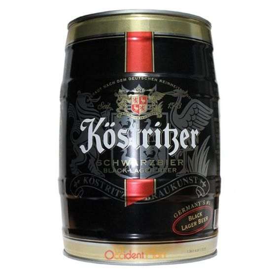 Bia Kostritzer 4,8% - Bom 5l - Bia Nhập Khẩu HCM