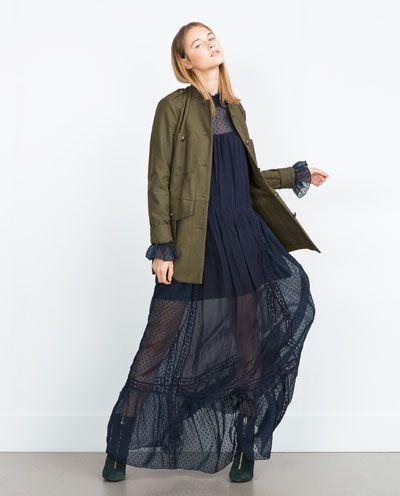 Image 5 of MILITARY JACKET from Zara