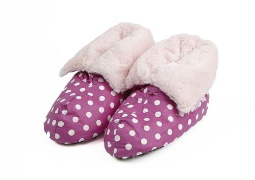 Feather Pillow Boots Fur Lined