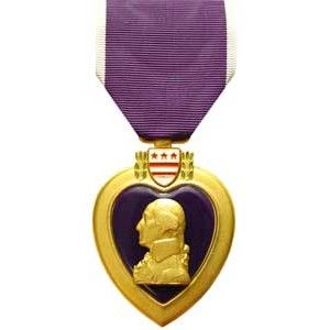 "The Purple Heart Medal (PH) is a decoration presented in the name of the President of the United States to recognize members of the U.S. military who have been wounded or killed in battle. It differs from other military decorations in that a ""recommendation"" from a superior is not required, but rather individuals are entitled based on meeting certain criteria found in AR 600-8-22.:"