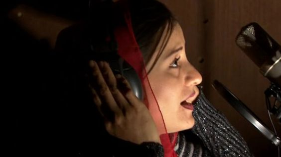 """BBC News story about Afghanistan's first female rapper - """"In a country where women's' rights are still fiercely contested, Soosan Firooz has added a strong new voice to the debate in Afghanistan."""" Soosan Firooz is just 23 and sings about the oppression of women in Dari."""