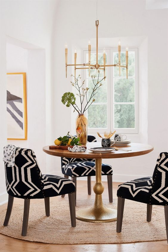 Table Trends For Your Dining Room Minimalist Dining Room Dining Room Design White Dining Room