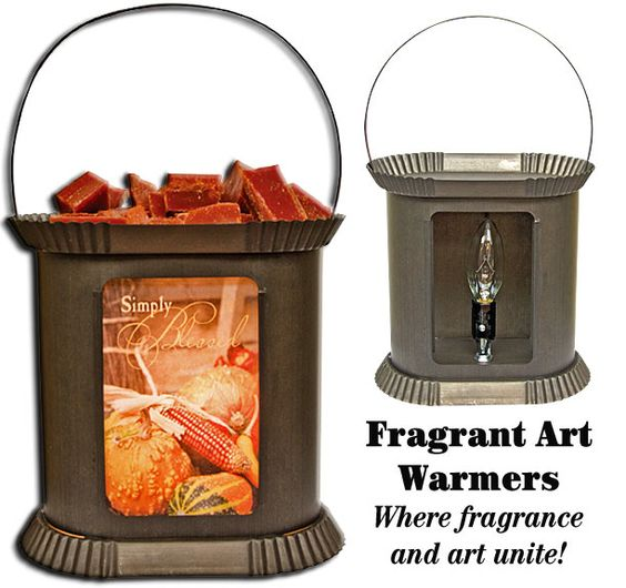 Kettle Black Fragrant Art Warmer - A fusion of art, light and fragrance!