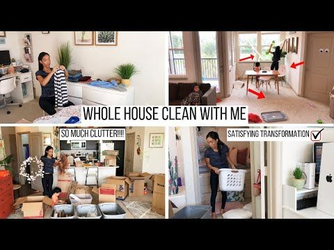 Whole House Clean With Me Cleaning Motivation Cleaning