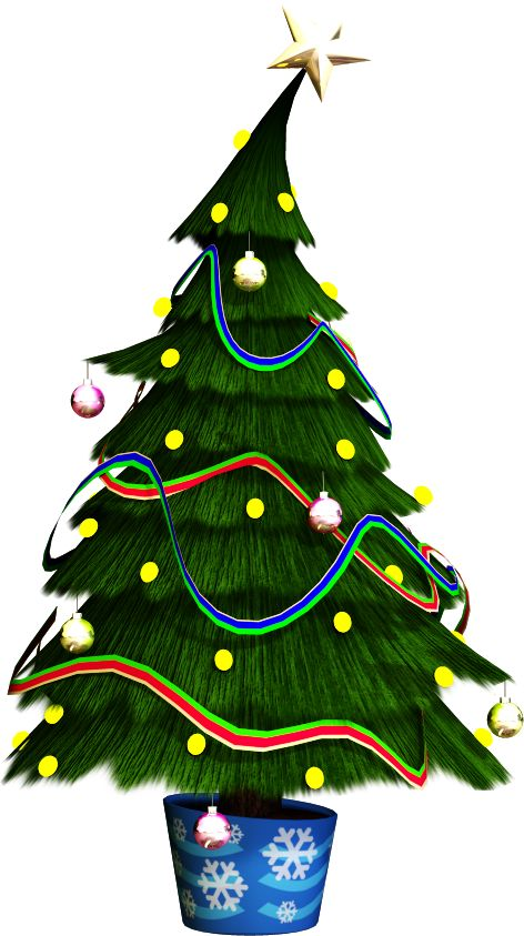 CHRISTMAS TREE CLIP ART: