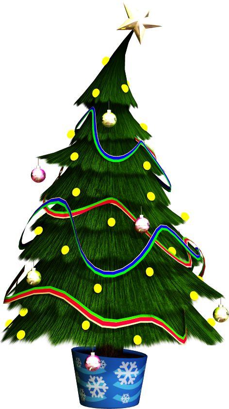 CHRISTMAS TREE CLIP ART: