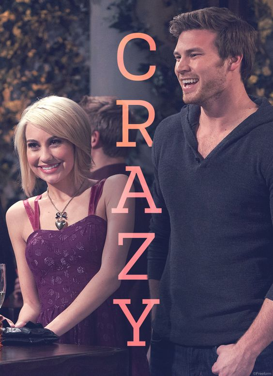 Real friends know all your quirks and love you anyway. // Chelsea Kane and Derek Theler are Riley and Danny in Baby Daddy.