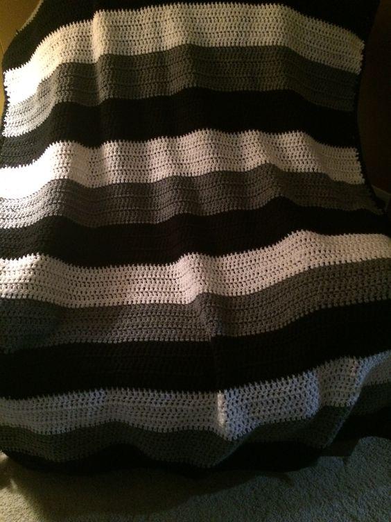 Crochet Afghan Patterns For Guys : Afghan pattern for men Crochet Pinterest For men ...