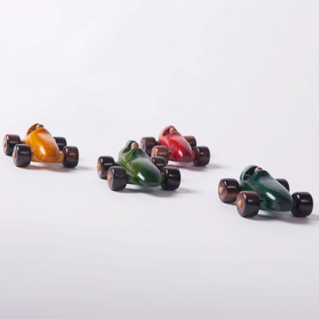 Wooden Lolly Car Set by United Measures