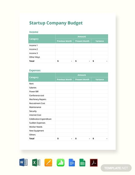 Free Templates Template Net Simple Budget Template Budget Template Free Budget Template
