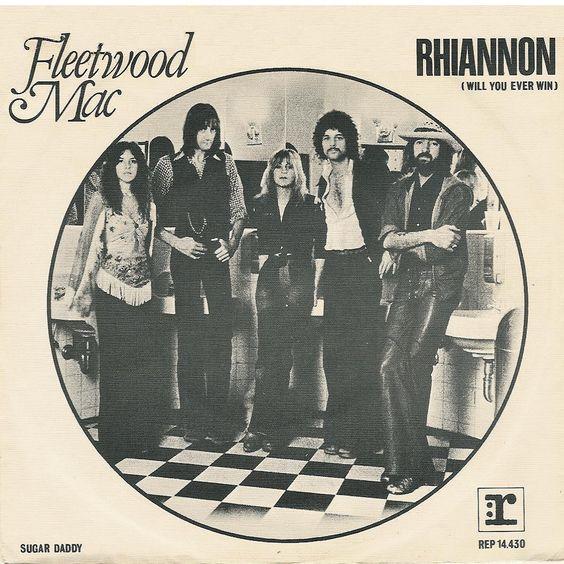 Fleetwood Mac – Rhiannon (single cover art)