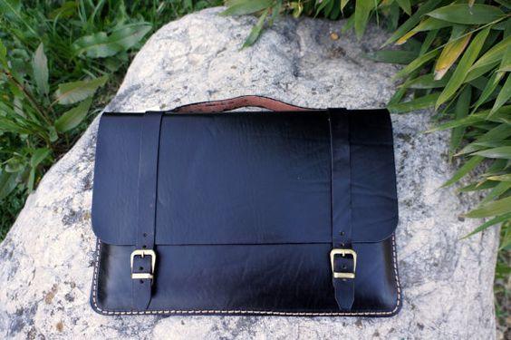 MacBook Netzhaut Hülle Tasche 13'' und 15'' aus von GalenLeather