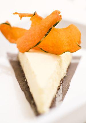 White tarte with pumpkin photo by ckahr.com