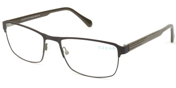 Stainless steel frame with acetate temples. www.c-zone.com T5175