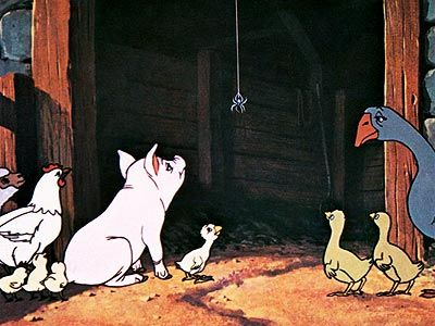 Charlotte's Web - I watched this movie over and over and over... long before they made us read it in class haha: