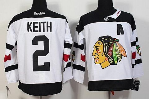 new styles 1e8b3 c3f76 nhl jerseys chicago blackhawks 2 duncan keith white 2014 ...
