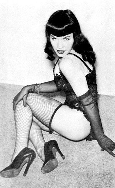 Bettie Page 1950's