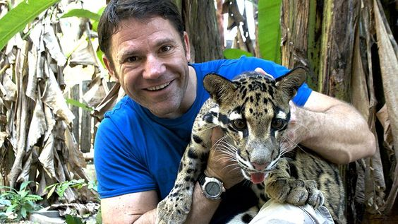 Steve Backshall. Cloudy Leopard.