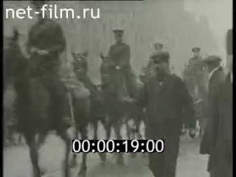 Британская хроника начала XX в  (1910 - 1919)   Раритетные кинокадры