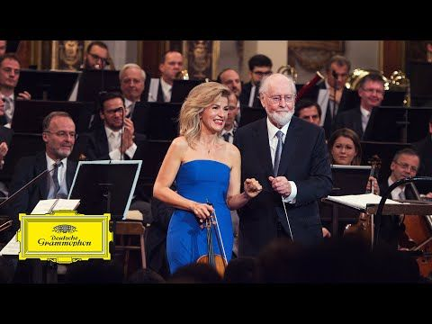 John Williams Vienna Philharmonic Feat Anne Sophie Mutter Hedwig S Theme From Harry Pot Vienna Philharmonic Harry Potter Youtube Strapless Dress Formal